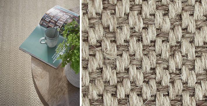 Vloerbedekking Slaapkamer Sisal : ... een op maat gemaakt sisal ...